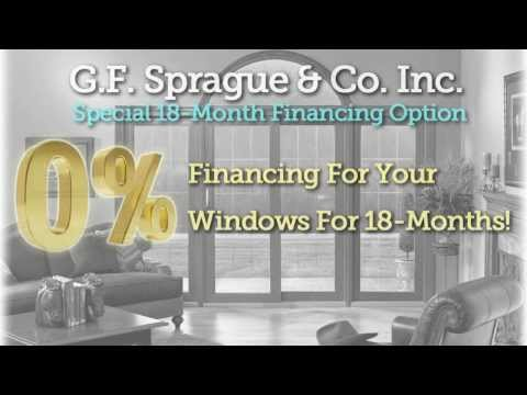 G.F.Sprague & Co. Inc. is Boston Ma's replacement window contractor. Whether you have aluminum windows, or vinyl windows, we have the replacement window solution for you. All of our work is backed up with a 40 year workmanship warranty. So you have confidence with GF Sprague with all your work for replacement windows. G.F. Sprague has been in business since 1969 and has over 10,000 satisfied customers.