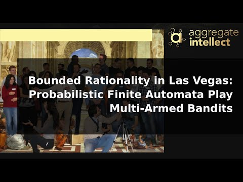 Bounded Rationality in Las Vegas: Probabilistic Finite Automata PlayMulti-Armed Bandits