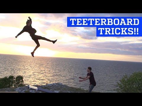 Incredible Teeterboard Tricks & Flips!