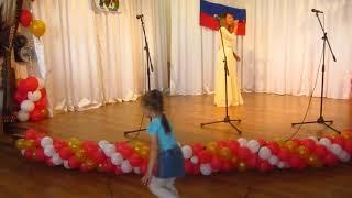 Я живу в России. Праздничный концерт. Ютановка. Кристина поёт