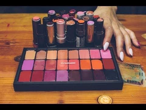 DIY: Depot Lipstick Into MAC Palette