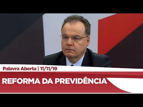 Samuel Moreira explica detalhes da reforma da Previdência