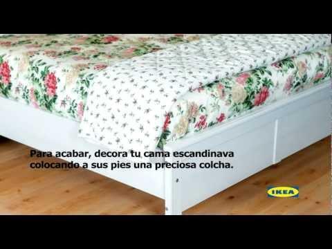 Cómo hacer tu cama al estilo escandinavo