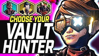 Borderlands 3 |  Vault Hunter Picking Guide - 75 hours+ Gametime Opinions (Who Should You Play?)