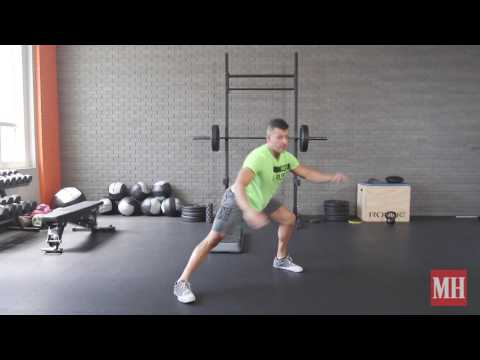 See-Saw Lunge