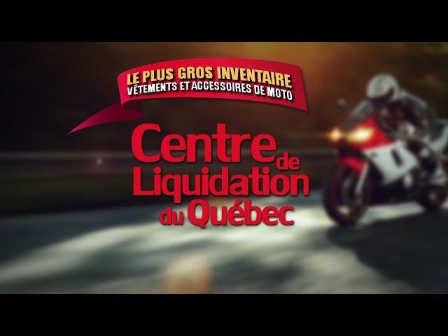 Centre de Liquidation du Québec – Trio de moto – Juin 2016