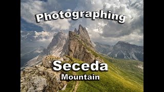Alpine Photography of Seceda Mountain