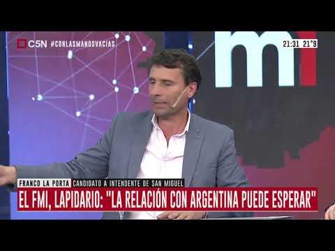 """Franco La Porta: """"El 70% de la deuda provincial esta en dolares"""""""