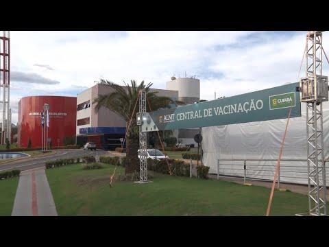 Inaugurada a Central de Vacinação do Parlamento Estadual