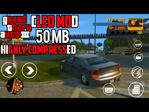 GTA III DOWNLOAD IN 50 MB | CLEO MOD | ANDROID - смотреть онлайн на