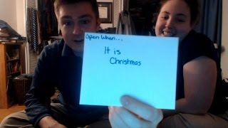 Open When Love Letter: Open When... It's Christmas | With Sarah My Girlfriend
