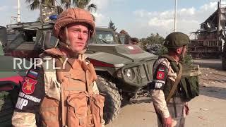 Syria: Russian humanitarian aid arrives to liberated Douma