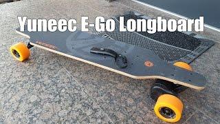 83metoo - Yuneec Elektro Skateboard E GO Cruiser - Elektro Longboard Test