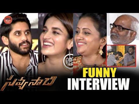 Savyasachi Team Funny Interview | Naga Chaitanya | Nidhhi Agerwal | Viva Harsha | Comedian Satya |