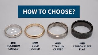 How To Choose A Wedding Ring (Type, Size, Fit, Shape)