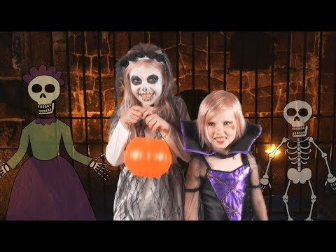 Halloween Night (Live Action Version) - Children's Halloween Song
