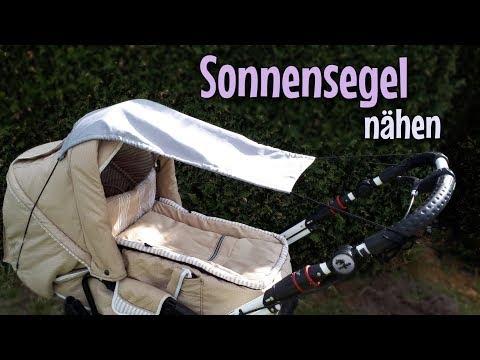 Sonnensegel - Nähanleitung OHNE Schnittmuster - Für Anfänger - Nähtinchen