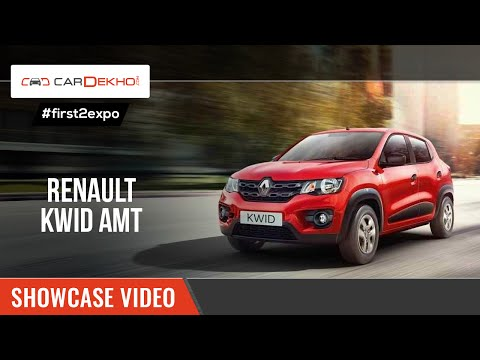 #first2expo: Renault Kwid 1.0 AMT | Showcase Video | CarDekho@AutoExpo2016