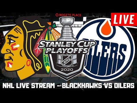 Chicago Blackhawks vs Edmonton Oilers Game 2 Live | NHL Stanley Cup Playoffs Play by Play Stream