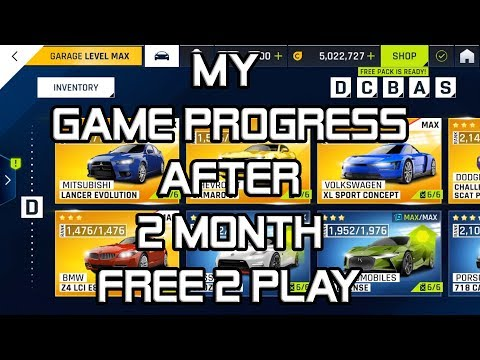 My Game Progress after 2 months – Free2Play