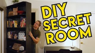 How To Create A SECRET ROOM With A SECRET DOOR In Your House!!!