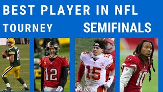 Best NFL Player Tournament Semifinals: Vote for Your NFL MVP