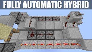 Minecraft: Rapid Fire Hybrid TNT Cannon [Regen Wall Destroyer!] [Tutorial] [1.7/1.8+]