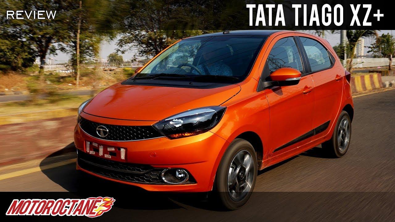 Motoroctane Youtube Video - 2019 Tata Tiago XZ+ Review | Hindi | MotorOctane