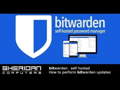 bitwarden - How to update self-hosted version