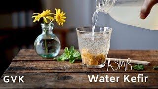 ASMR Water Kefir (dairy-free Probiotic Drink)