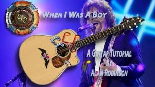 Jeff Lynne's ELO - When I Was A Boy - Acoustic Guitar Lesson