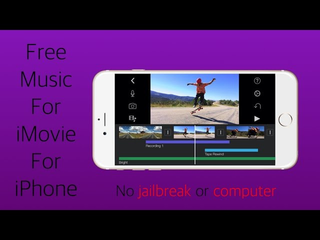 how to get free music on iphone how to get free for imovie for iphone 20085