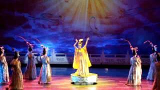201106陜西西安 大唐芙蓉園 夢回大唐2 盛唐歌舞文化 詩樂歌舞劇 鳳鳴九天劇場
