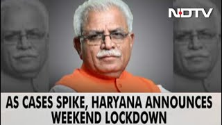 All Offices, Shops Except Essential Shut In Haryana On Saturday, Sundays - Download this Video in MP3, M4A, WEBM, MP4, 3GP