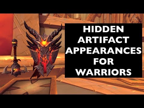 Hidden Artifact Appearances for Warriors (Hidden Potential)   WoW Guide