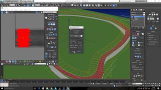 Unwrapping UVW On A Track Or A Road Using A Spline