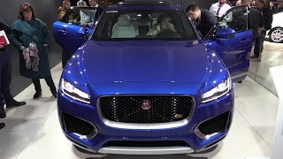 Jaguar F-Pace In Depth Review Interior Exterior