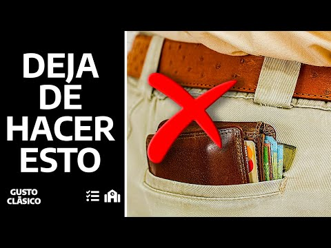 Billeteras | Tres reglas para vestirlas