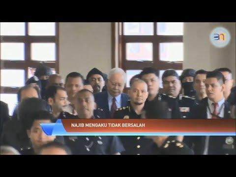 Datuk Seri Najib Tun Razak Mengaku Tidak Bersalah Atas Tuduhan Pecah Amanah