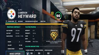 Madden 21 Franchise Mode Feedback | Basic Contract Management