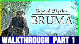 Beyond Skyrim: Bruma Walkthrough Part 1 - (Waiting for The Elder Scrolls 6)