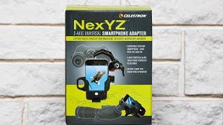 Celestron NexYZ 3 Axis Universal Smartphone Adapter review
