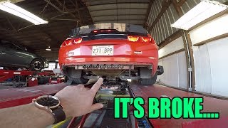 Alignment guy took my car for a joy ride ON VIDEO...