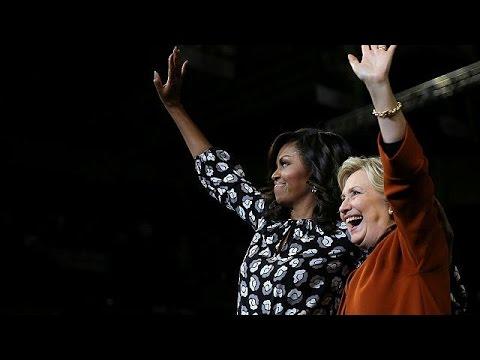 ΗΠΑ: Η Χίλαρι ρίχνει στην μάχη το «υπερόπλο» Μισέλ Ομπάμα – world