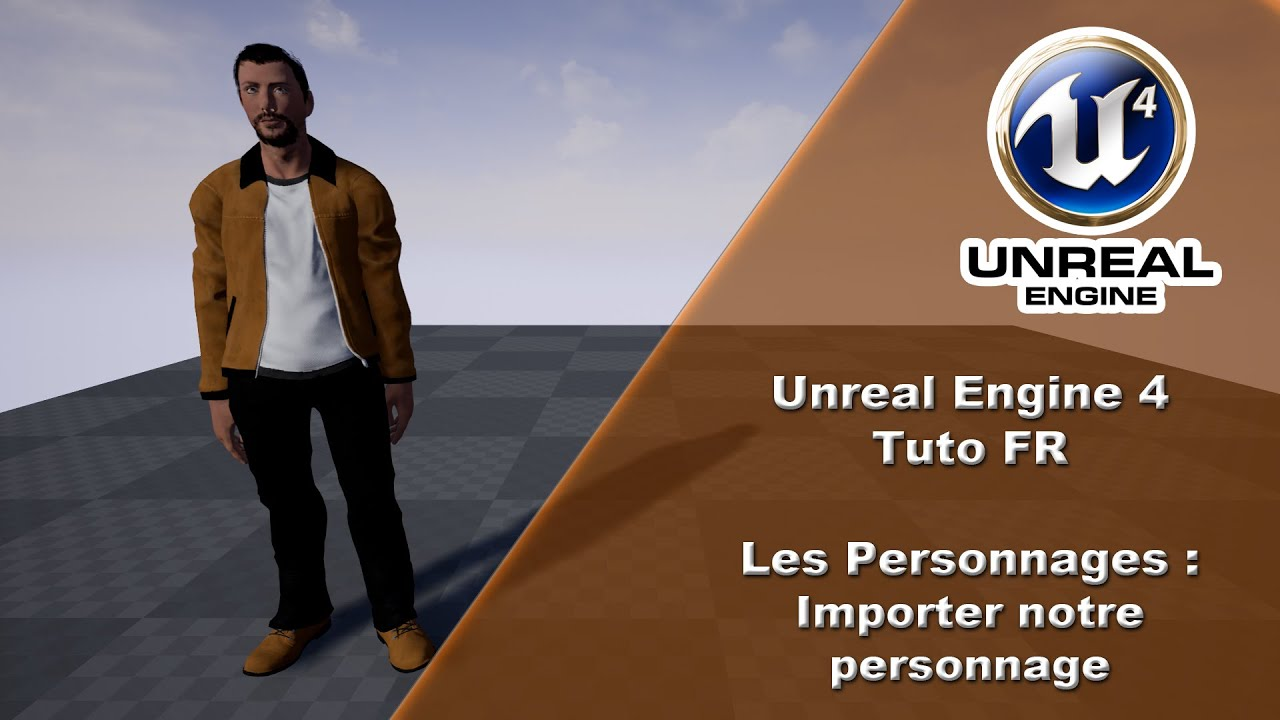 [UE4 TUTO FR] Personnage - Remplacer le perso