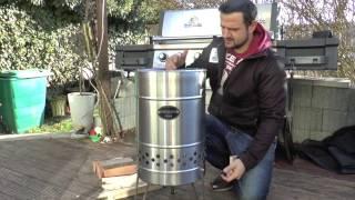 TEST Feuerschale Feuertonne Feuerhand Pyron Petromax    Klaus grillt