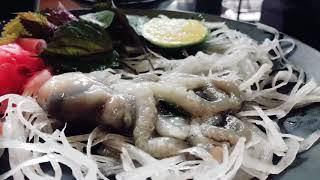 [Ăn] Bạch tuộc sống vừa tươi vừa ngon