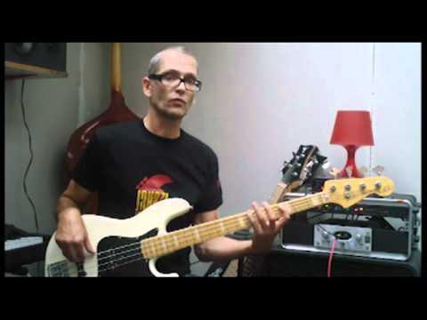 Pentatonic scale bass practice