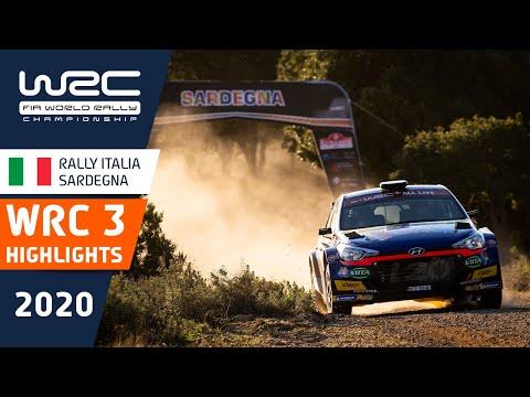 WRC3 ラリー・イタリア・サルディニア WRC3クラスのハイライト動画