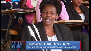 Dau la Elimu:Uongozi thabiti vyuoni